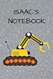 Isaac's Notebook: Funny Digger  Writing 120 pages Notebook Journal -  Small Lined  (6' x 9' )