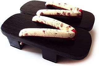ZCPCS Cos Zapatillas Mujer Masculina japonés de Madera escorpión Palabra Arrastrar Dos Hombres Hombres y Mujeres con el pá...