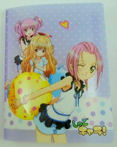 Kawaii Manga Fille 20 pochettes A4 légère dossier du fichier Affichage du livre (Violet)