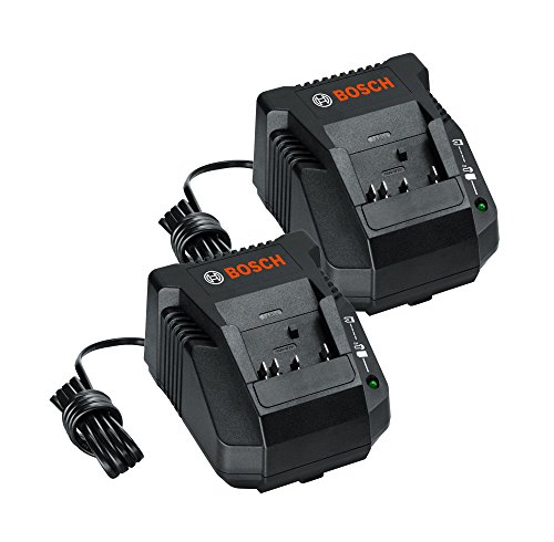 Bosch BC660 (2 Pack) 18-volt Lithium-Ion Battery Charger # 2607225429-2PK