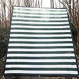 AWSAD Sonnenschutznetze,schatten tuchschattiernetzDachbegrünungspflanzen, Gewächshäuser, Carports, Außen-, Haus-, Balkon-, sonnenschutz für gewächshausSchwimmbad-, Innenhofisolierungen, grüne & weiß