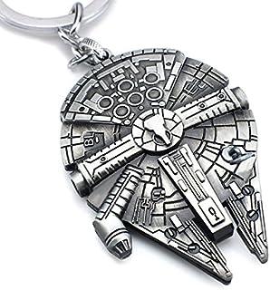 Llavero Star Wars Keyring Halcón Milenario Aluminio 3D