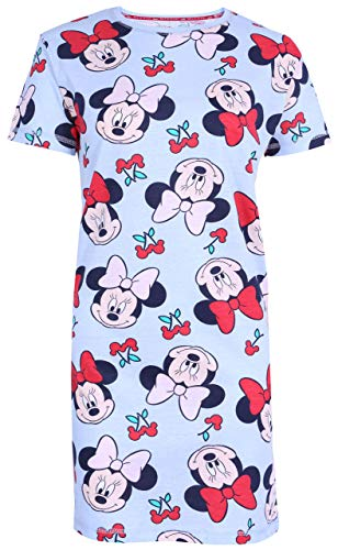 -:- Minnie Mouse -:- Disney -:- Blaues Nachthemd S
