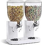 YGB Dispensador de Cereales Doble Household7L - Recipiente de...