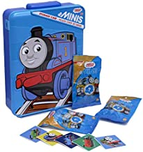 Thomas Mini Train Collection Storage and Starter Set – Includes 3 Minis Surprise Bags and Stickers