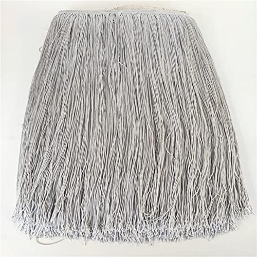 LIOLEO Beautiful 50cm Wide Lace Fringe Trim Tassel Fringe Trimming for Latin Dress Wedding Stage Clothes Accessories Tassel - 1 metros - Sewing Fringe Trim