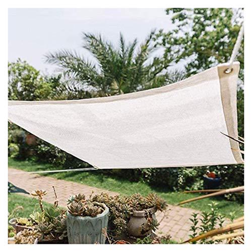 LSSB Paño De Sombra De Jardín, Temperatura De Caída Respirable Anti-envejecimiento Malla De Sombreo para Exterior Plantas Patio Interior Cubierta del Coche, Personalizable