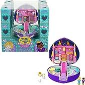 Polly Pocket Recuerdo colección Starlight Castle Compacto, temática de Castillo Encantado, Regalo Coleccionable, 4 y más [Exclusivo de Amazon]