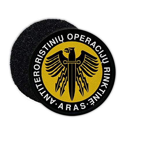 Copytec - Patch Ara Lituania Police Lietules Policijos antiteroristiniu anti-terror # 34108