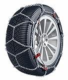 BB-EP Chaîne à Neige Roi–La chaîne à Neige 9mm avec Tension Manuelle–Convient pour Smart Fortwo (2007) avec la pneus Taille 175/55R15en kit avec Haute qualité Gants