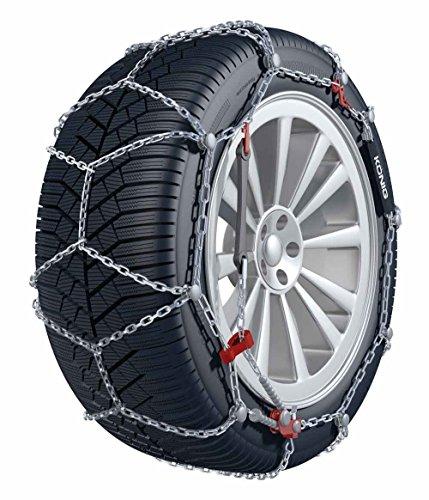 BB-EP Chaîne à Neige Roi – La chaîne à Neige 9 mm avec Tension Manuelle – Convient pour Chevrolet Aveo avec la pneus Taille 185/55 R15 en kit avec Haute qualité Gants