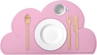 Tovaglietta per bambini in silicone Tovaglietta aspirante Tovaglietta antiscivolo per isolamento termico Tovaglietta per alimenti per neonati per bambini Pink