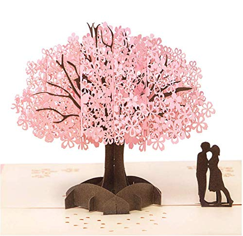 3D-kaart, Hitopin 3D Pop-Up wenskaart bruiloft uitnodigingen bruiloft uitnodigingen Valentijnsdag kaart Verjaardagskaart wenskaart voor Valentijnsdag verjaardag Moederdag