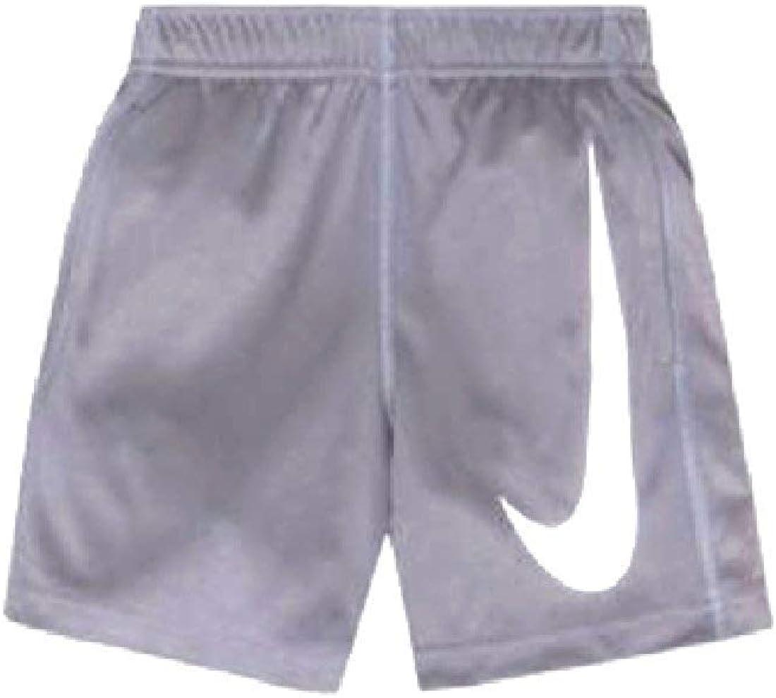 Nike Toddler Kids Boys Performance Big Swoosh Shorts Cool Grey/White
