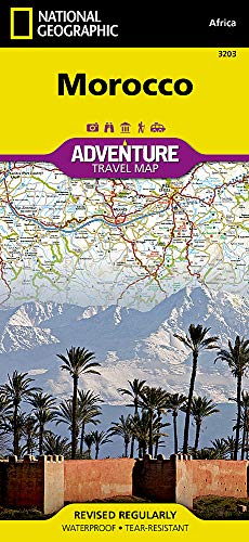Morocco: Travel Maps International Adventure Map [Idioma Inglés]