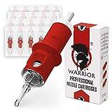 WARRIOR Rojo Cartuchos de agujas de tatuaje profesionales Tattoo Needle...