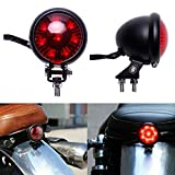 Motorcycle LED Tail Light Brake Rear Lamp For Harley Bobber Chopper Cafe Racer ATVs Dirt Bike