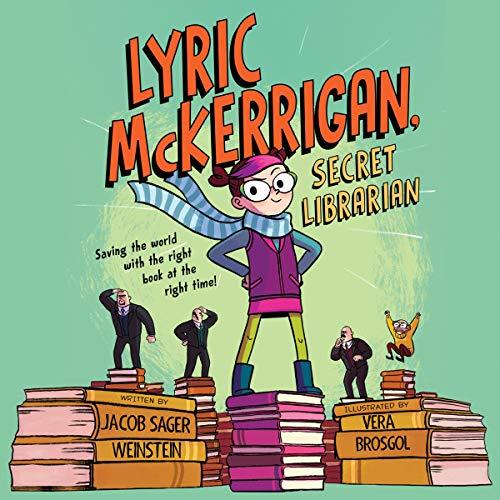 Lyric McKerrigan, Secret Librarian audiobook cover art