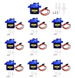 CenryKay 10PCS SG90 Micro Servo Motor RC Robot Helicopter Aircraft Control 9G