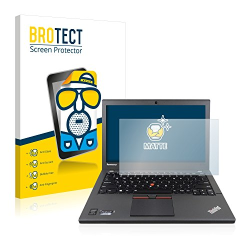 BROTECT 2X Entspiegelungs-Schutzfolie kompatibel mit Lenovo ThinkPad X250 Non-Touch Bildschirmschutz-Folie Matt, Anti-Reflex, Anti-Fingerprint