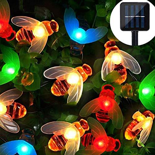 Led-lichtsnoer op zonne-energie, waterdicht, voor buiten, 8 modi, versierd voor kerstboom, tuin, feest, bruiloft, huis, feestverlichting