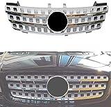 HzvtCtarmsu Custom Front Bumper Hood Grille Auto Mesh Grill Front Radiator Grilles Fit for Mercedes Benz W164 Ml300 Ml320 Ml350 Ml400 Ml500 Ml430 Ml500-1