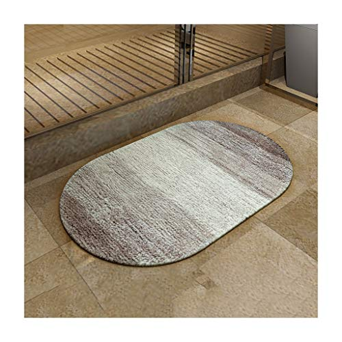 LYM # Tapis de Salon Tapis de Sol Tapis de Sol, Anti-poussière Anti-Glissement d'absorption d'eau, Tapis de Salle de Bains d'hôtel à la Maison, tapis-40 * 60/50 * 80cm Tapis