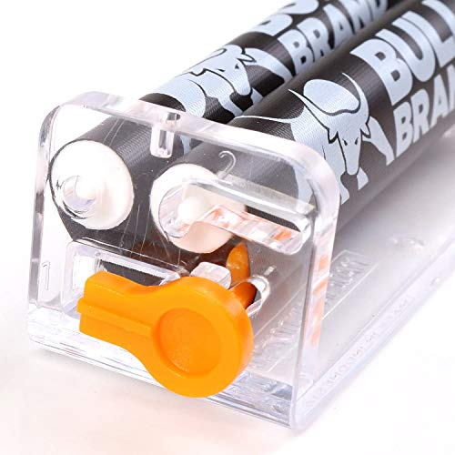 SA 3 x BULL Brand Slim Ultra Zigarettenroller Combi verstellbar Tabak Drehmaschine UK