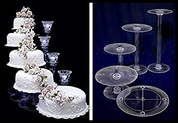 5 Tier Cascade Wedding Cake Stand  STYLE R500