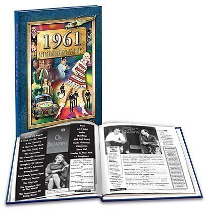 1961 What a Year It Was! Hardcover Coffee Table Book