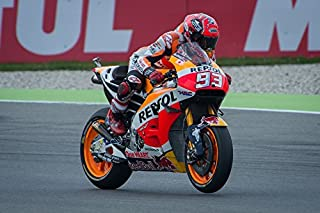 Home Comforts Motor MotoGP Racing Speed Bike Motorcycle Marquez Laminated Poster Print 24 x 36