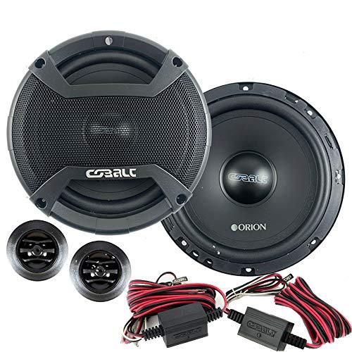 "Orion CO652C New 2021 Model 6.5"" 2-Way 500 Watt 4ohm Cobalt Series Car Audio Component Speaker system"