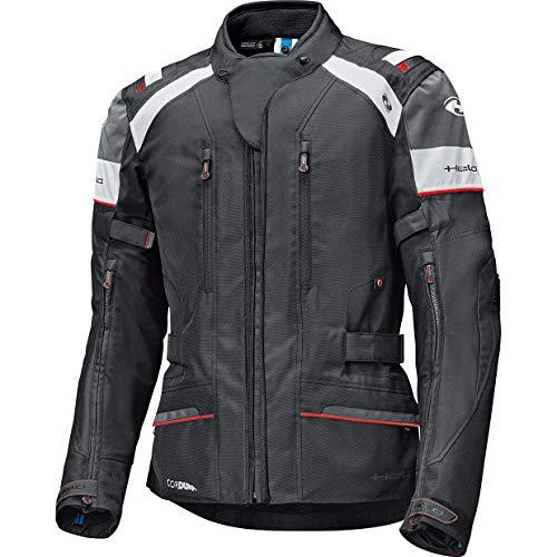 Held Motorradjacke mit Protektoren Motorrad Jacke Tivola ST Textiljacke schwarz/weiß XL, Herren, Tourer, Ganzjährig
