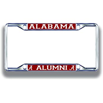 Elite Fan Shop NCAA License Plate Frame Alumni