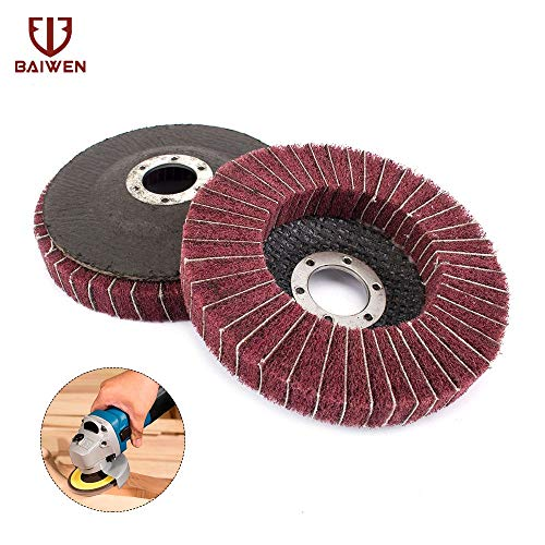 Affordable Xucus New Nylon Fiber 115mm Grinding Wheel With Sand Polishing Buffing Disc Pad Abrasive ...