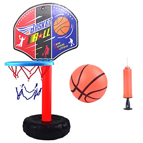 Buy Nstcher Kids Height- Adjustable Sports Basketball System Hoop Basketball Goal Backboard