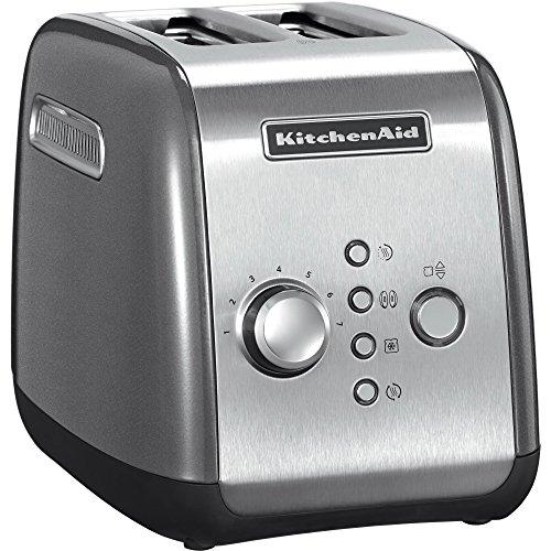 Kitchenaid 5KMT221ECU Grille-Pain pour 2 tranches Argenté