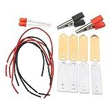 YOUTTOO Fruchtbatterie-Set mit Leuchtdiode, Orange Kartoffelgenerator, Zitronengenerator, Wissenschaft Projekt Student Experiment