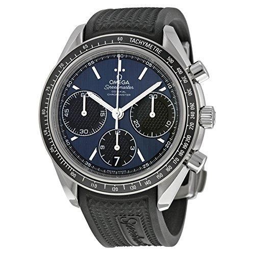Omega Reloj de Pulsera para Hombre con cronógrafo, automático, Caucho, 32632405003001