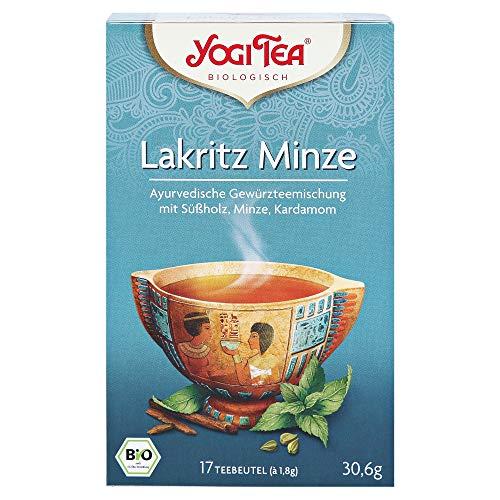 Yogi Tee Lakritz Minze - Yogi Tea, 17 Teebeutel Bio -
