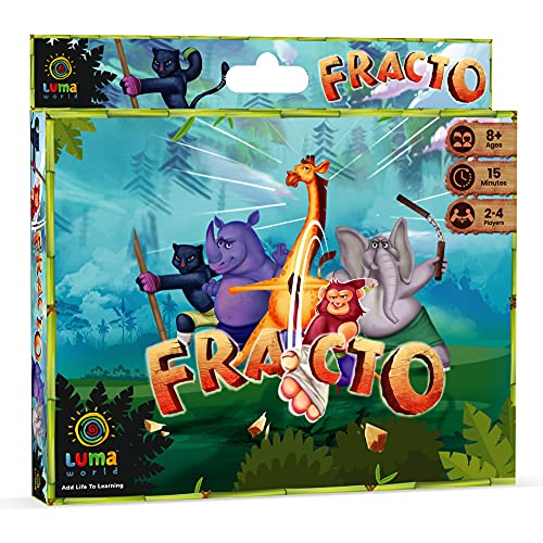 Luma World Fracto Educational Card Game for 8+ Years to Learn...