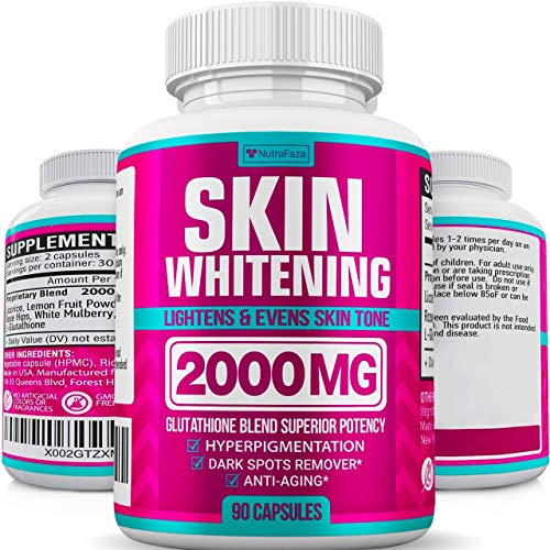 Glutathione Skin Whitening Pills - …