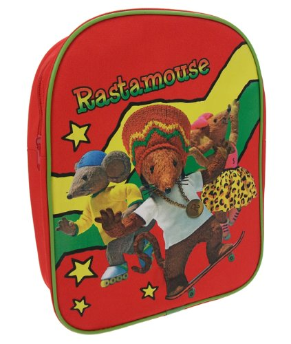 Trademark Collection Zaino RASTA001002 Rosso