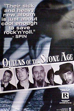 Queens of The Stone Age Group Shot poster. The poster is not sold by Queens of The Stone Age