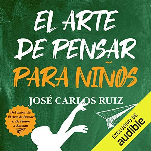 Diseño de la portada del título El Arte de Pensar para Niños