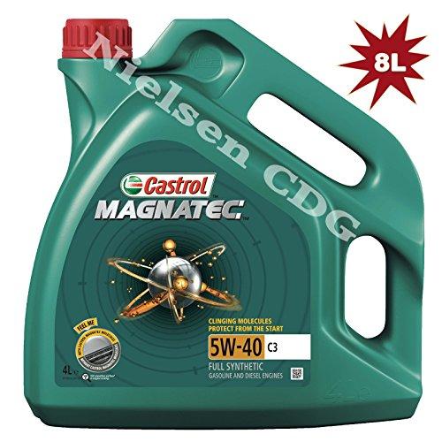 Castrol Magnatec 5W-40 C3 Aceite totalmente sintético para motores