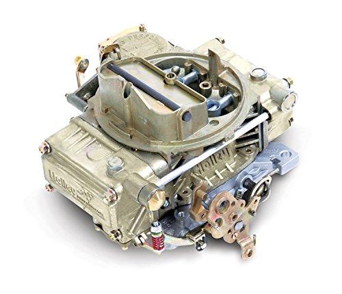 Holley 0-1850C 600 CFM Four-Barrel Vacuum Secondary Manual Choke Street Carburetor