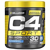 C4 Sport Pre Workout Powder Blue Raspberry