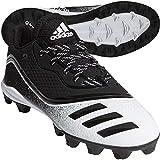 Adidas Youth Icon V Md Cleat Baseball Shoes Black/White 1