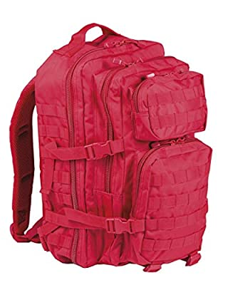 US Assault Pack Backpack Laser Cut, Womens Men Unisex, Us Assault Pack, red, S from Mil-Tec